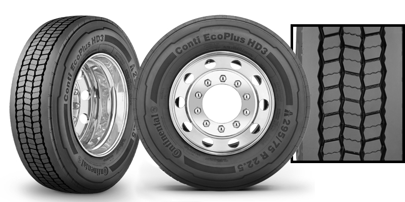 Center Exit Tire >> ENGAGE360 TRAINING CENTER : COMMERCIAL VEHICLE TIRES : CONTI ECOPLUS HD3