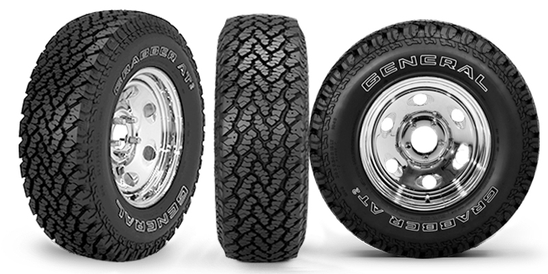 Center Exit Tire >> ENGAGE360 TRAINING CENTER : GENERAL TIRE : GRABBER™ AT2